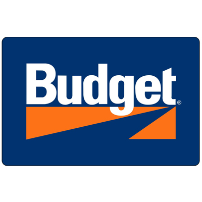 BUDGET<sup>®</sup> Rental $100 Gift Card – Use this Budget<sup>®</sup> $100 gift card to reserve your next rental car, truck or van.