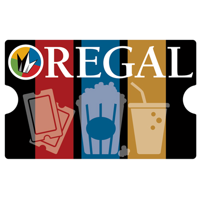 REGAL ENTERTAINMENT GROUP<sup>&reg;</sup> $25 Gift Card - Use this card to go see the latest major motion picture!